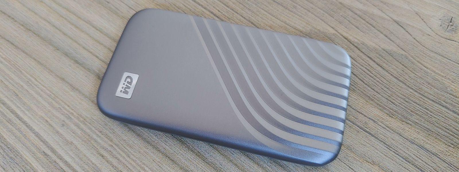 """Die Festplatte """"My Passport SSD"""" von Western Digital soll eine neue Performance-Generation einleiten."""