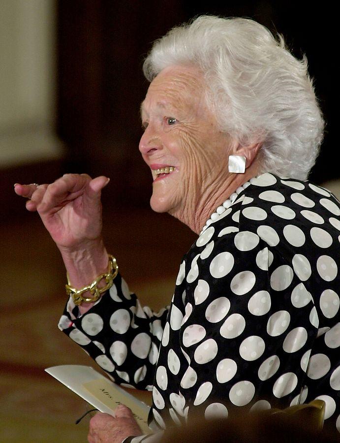 Barbara Bush wurde 92 Jahre alt.