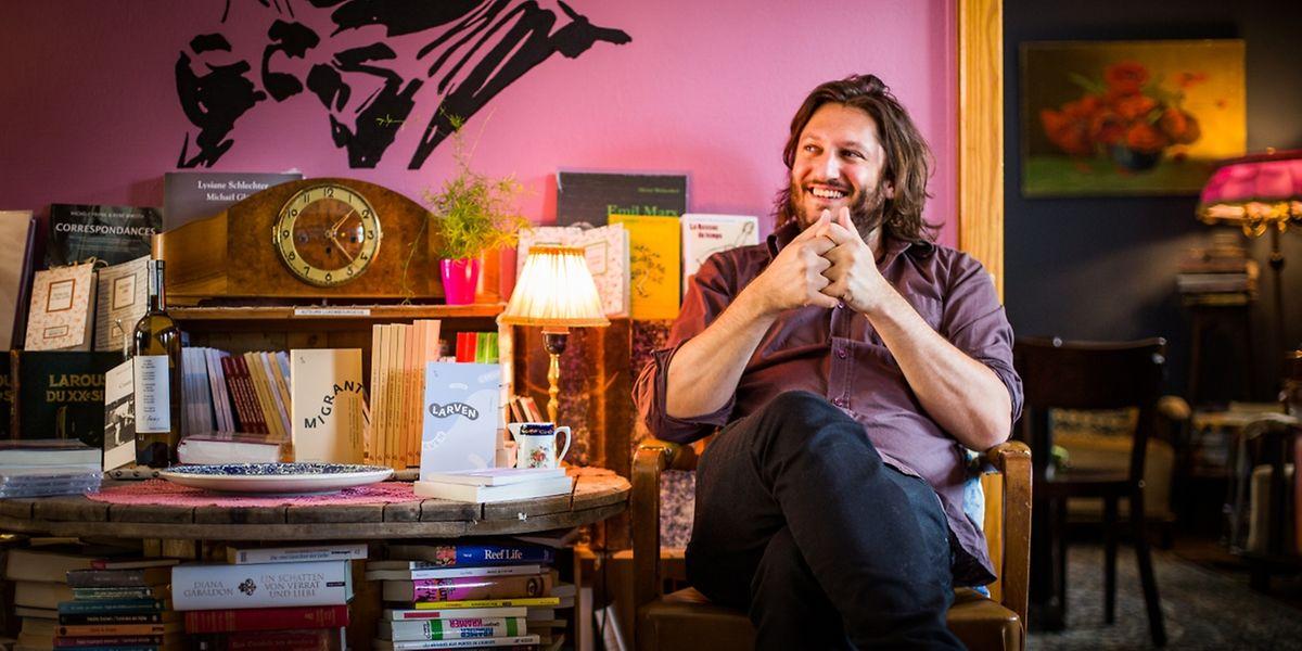 Ian de Toffoli est l'un des trois fondateurs des éditions Hydre.