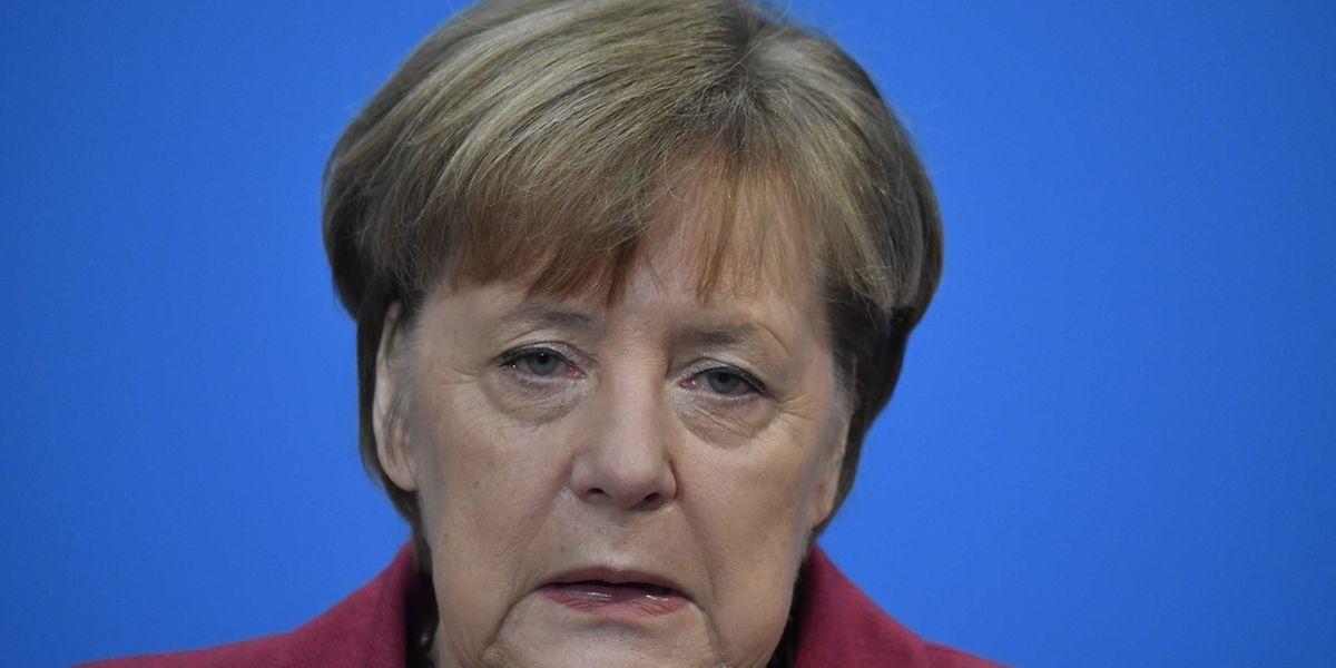 Für Angela Merkel gehen die Verhandlungen weiter.
