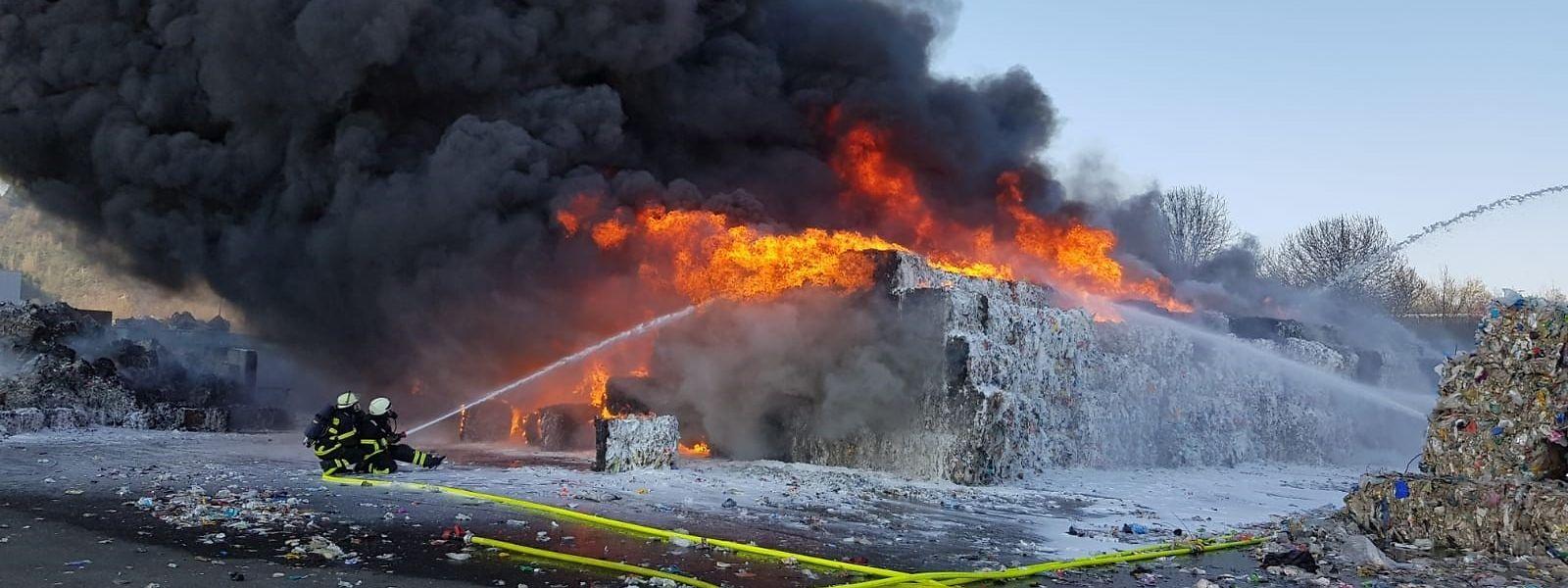 Personen kamen bei dem Brand nicht zu Schaden.