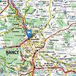 Maxéville liegt am nördlichen Stadtrand von Nancy.