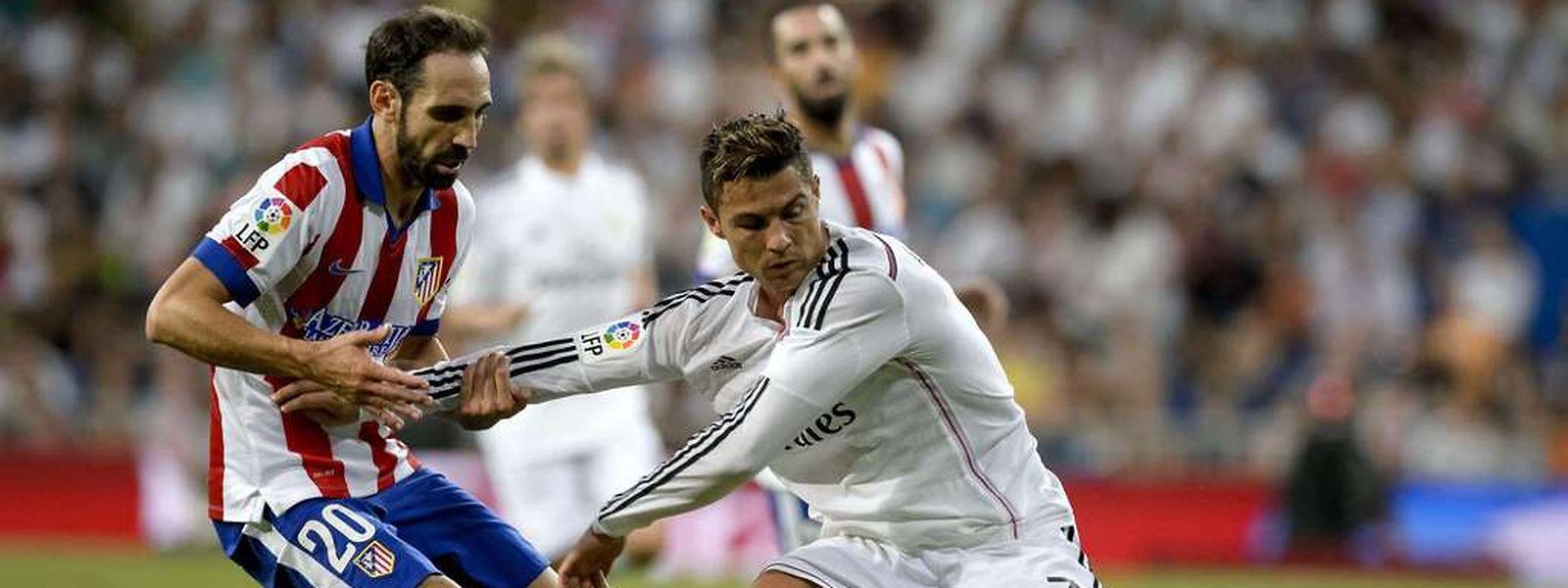 Contrairement à l'Atletico de Juanfran, le Real Madrid de Cristiano Ronaldo est en proie au doute. Carlo Ancelotti devrait toutefois confirmer l'équipe battue en Liga avec Iker Casillas dans les buts.