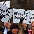 Unter dem Stichwort #FreeDeniz formiert sich die Unterstützung für Yücel - nicht nur in Deutschland.