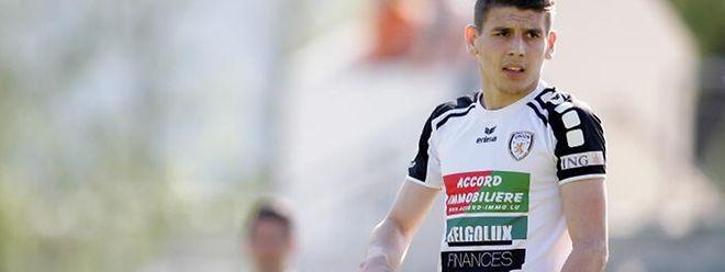 Artur Abreu gehört zu den Leistungsträgern von Titus Petingen.
