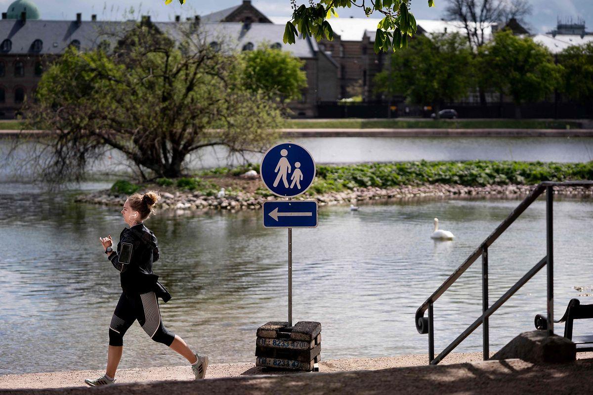 In Kopenhagen gibt es Einbahnstraßen für Jogger und Spaziergänger.
