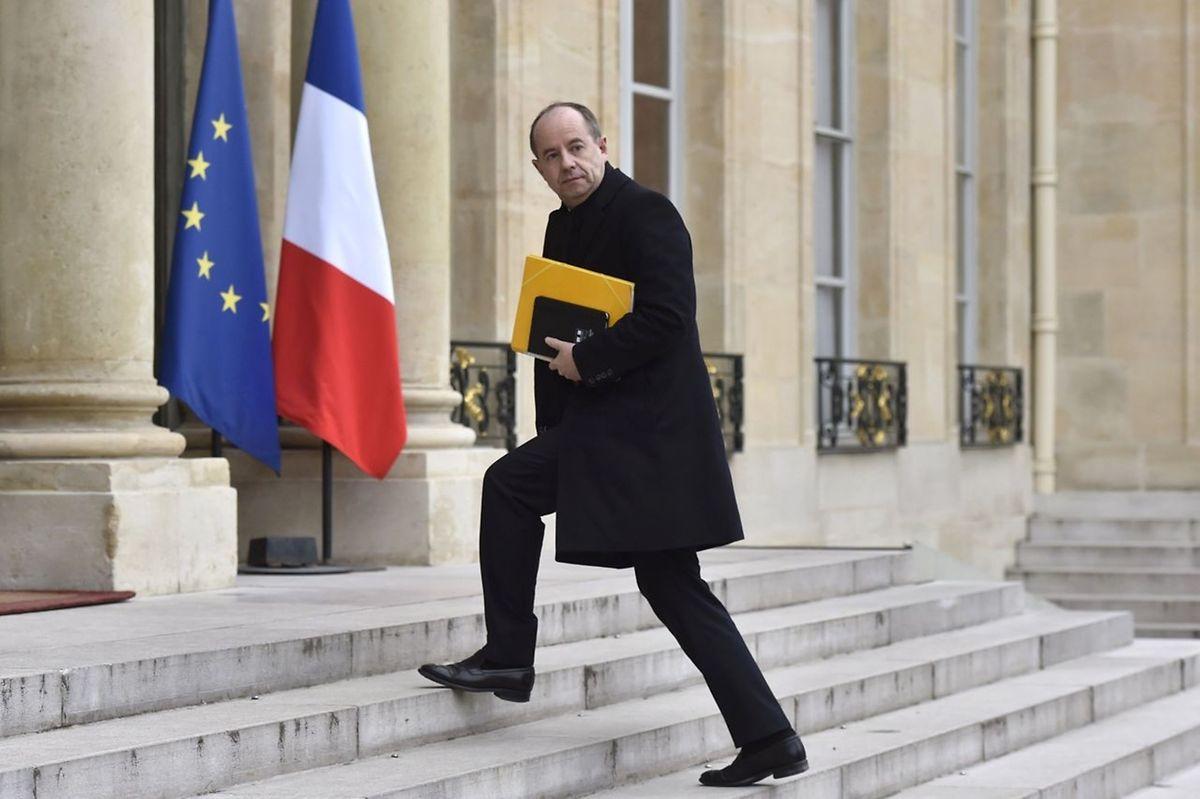 Le ministre français de la Justice, Jean-Jacques Urvoas