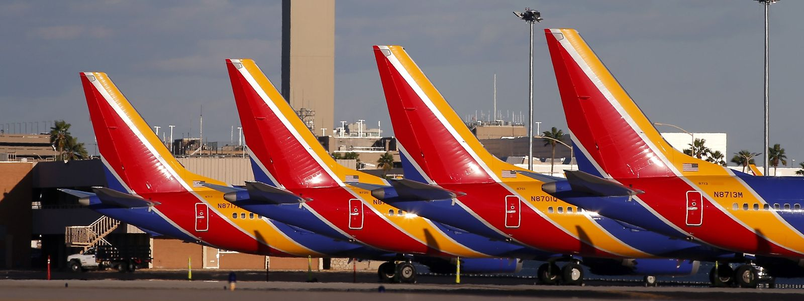 Auch in den USA sind die 737 Max mittlerweile mit einem Startverbot belegt.