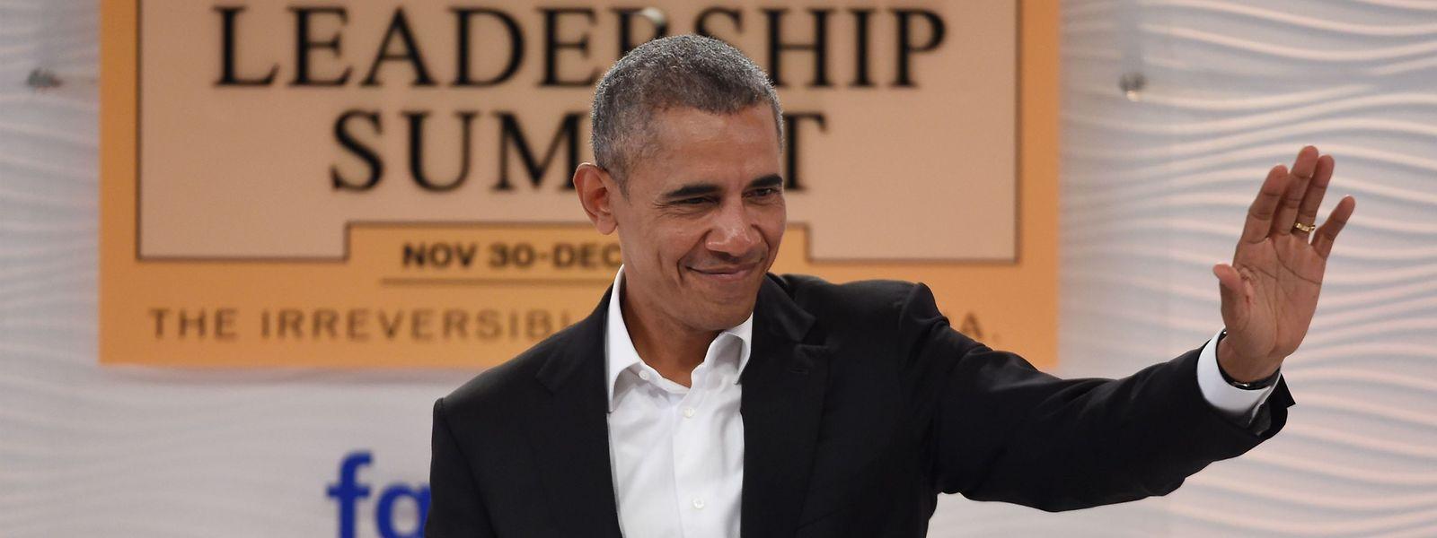 Ex-Präsident Barack Obama hat seine Erinnerungen niedergeschrieben.
