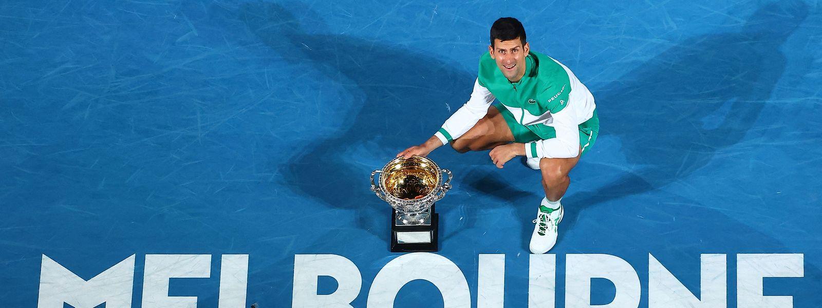 Novak Djokovic und die Ausralian Open, das passt einfach.