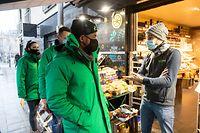 Lok , Pres Service A vos Côtés , Inter-Actions, Nachbarschaftsdienst im Garer Viertel , ITV Verantwortliche und Maurice Bauer , Foto:Guy Jallay/Luxemburger Wort