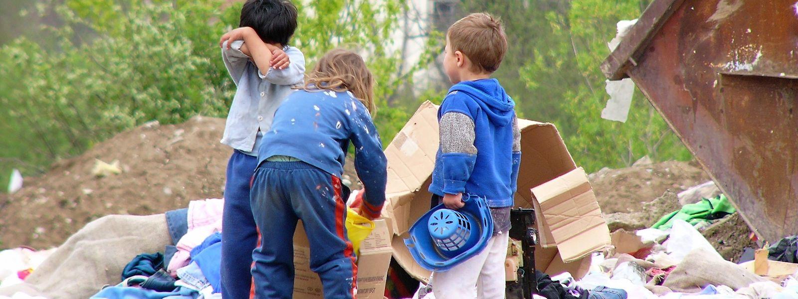 Viele Kinder müssen arbeiten, statt zur Schule zu gehen.