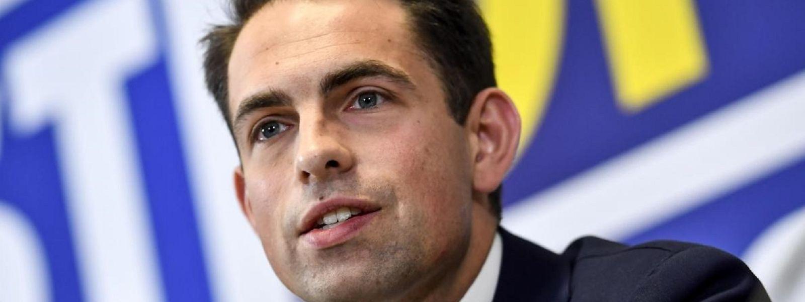 Tom Van Grieken, président du parti d'extrême droite Vlaams Belang, rejette tout lien avec les actions de Jürgen Conings.