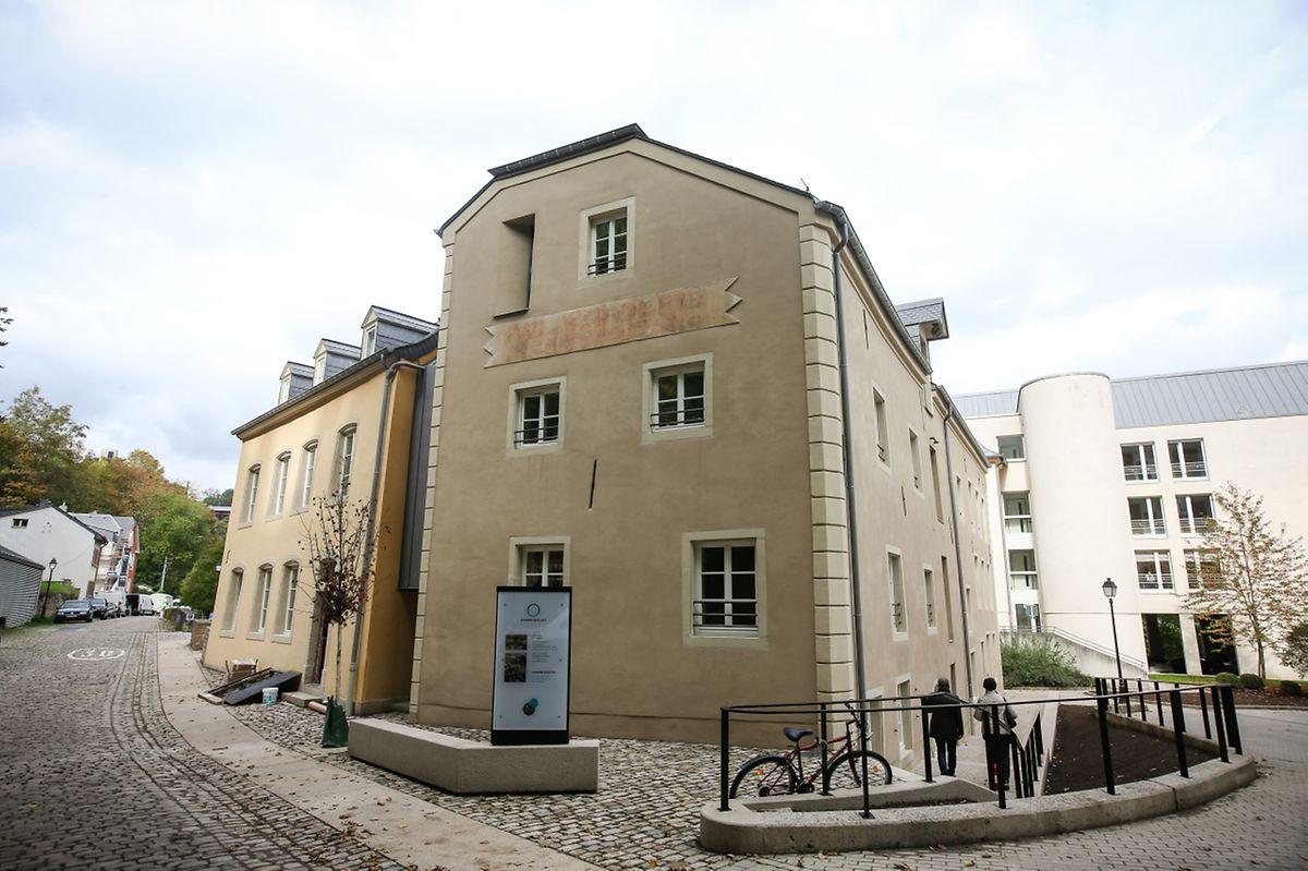 Die renovierten Gebäude auf Nummer 69 in der Rue Mohrfels in Pfaffenthal. Rechts im Hintergrund ist ein Teil des Zivilhospizes zu sehen.