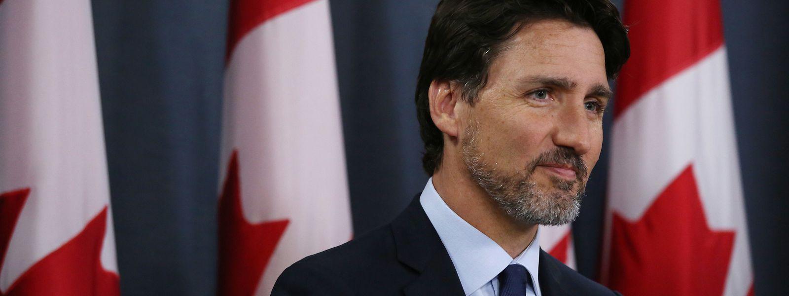 Wer wird für die Sicherheit der Royals aufkommen? Justin Trudeau reagierte zögerlich auf die Frage der Interviewerin.