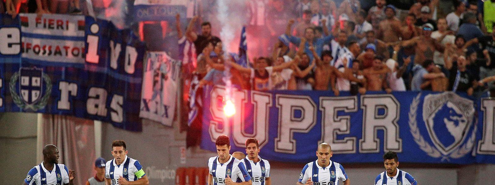 'Dragões' asseguraram o apuramento para a Liga Milionária com uma vitória expressiva em Roma
