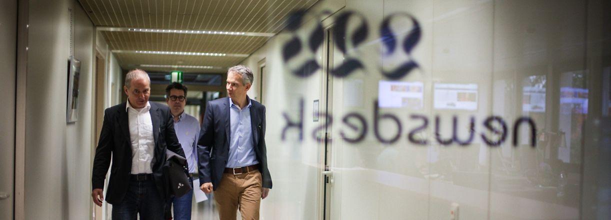 Chefredakteur fir een Dag: Prof. Markus Hesse - Photo : Pierre Matgé