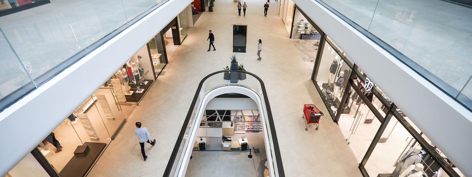 Im Mai 2019 öffnete das größte Einkaufszentrum der Großregion im Ban de Gasperich seine Türen.