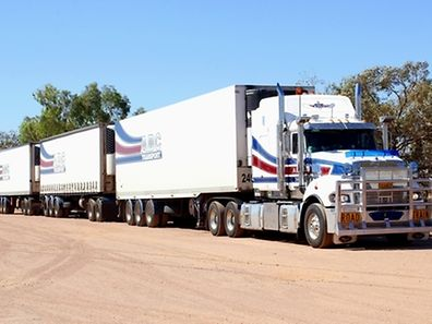 Un méga camion en Australie.