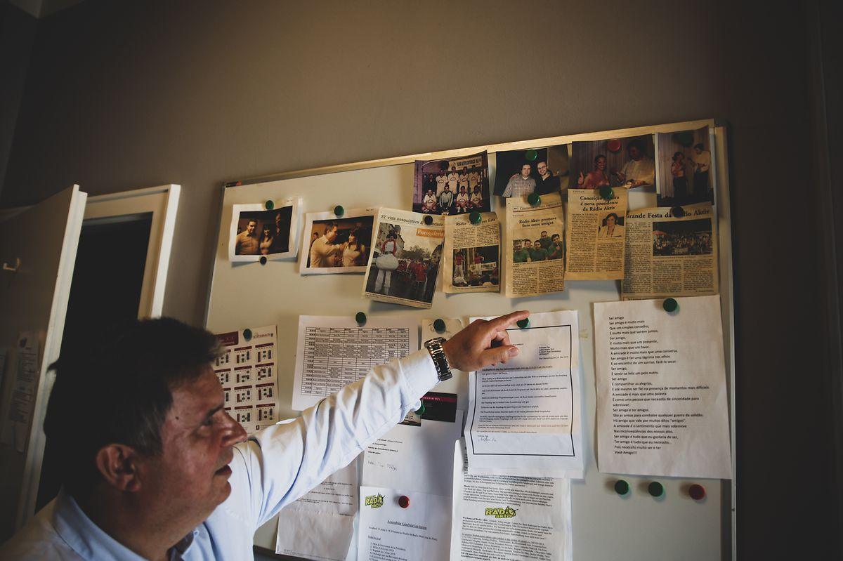 A rádio conta uma boa parte da história da vida de Domingos Pereira.