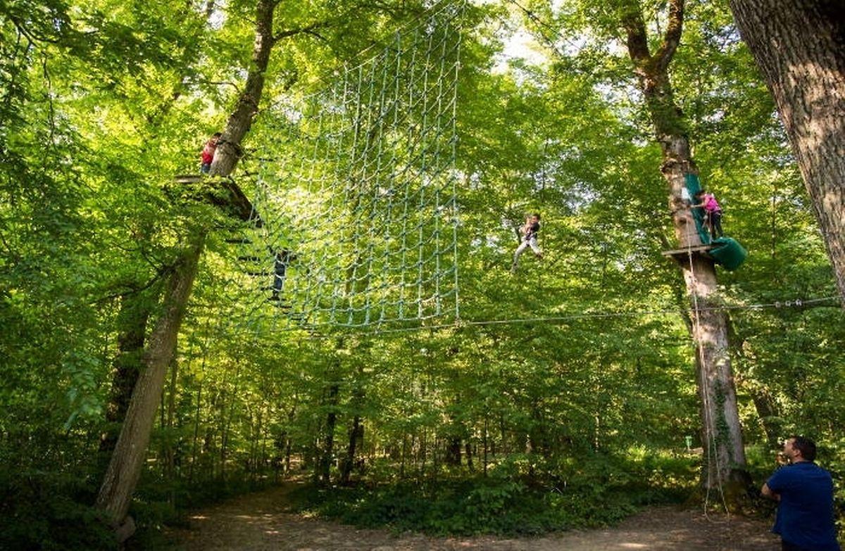 Get ready for the Tarzan swing Photo: Lex Kleren