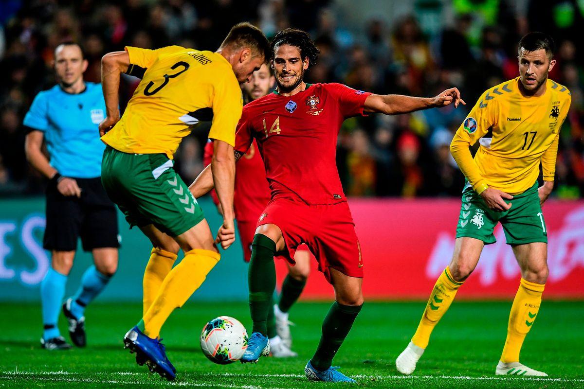Gonçalo Paciência a inscrit jeudi son premier but en sélection portugaise