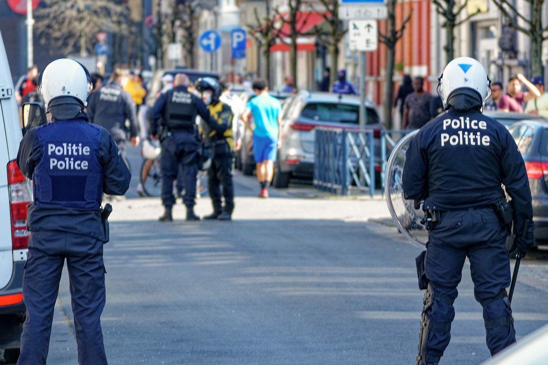 Unruhen in Anderlecht.