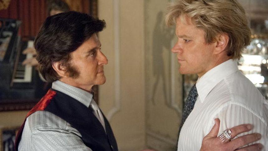 Michael Douglas et Matt Damon dans une scène de «Ma vie avec Liberace»