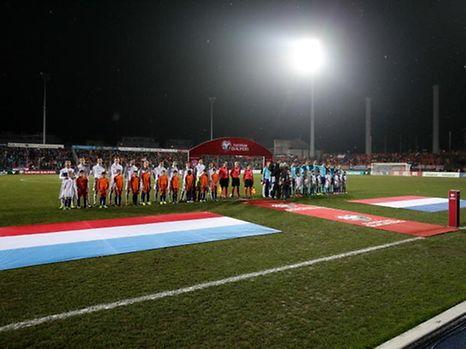 Après les Pays-Bas en novembre dernier, le stade Jos Barthel affichera à nouveau complet le 25 mars lors de la réception de la France.