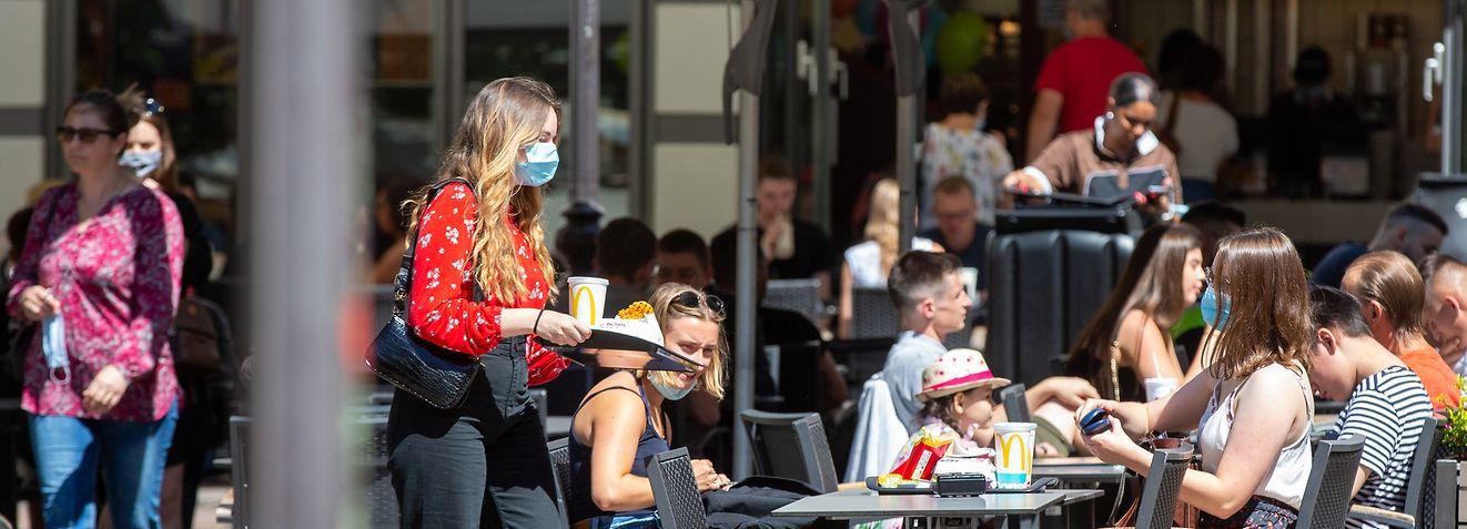 Wort.fr, Terrassen und Restaurants, Luxemburg, Covid-19, Coronavirus, Horesca, foto: Chris Karaba/Luxemburger Wort