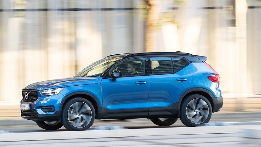 """Schwedisch für Fortgeschrittene: Volvo bezeichnet den XC40 als """"vielleicht ausdrucksstärkstes Modell der Marke""""."""