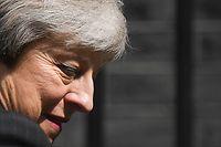 Selon les médias, la Première ministre britannique quittera ses fonctions en le 7 juin prochain.