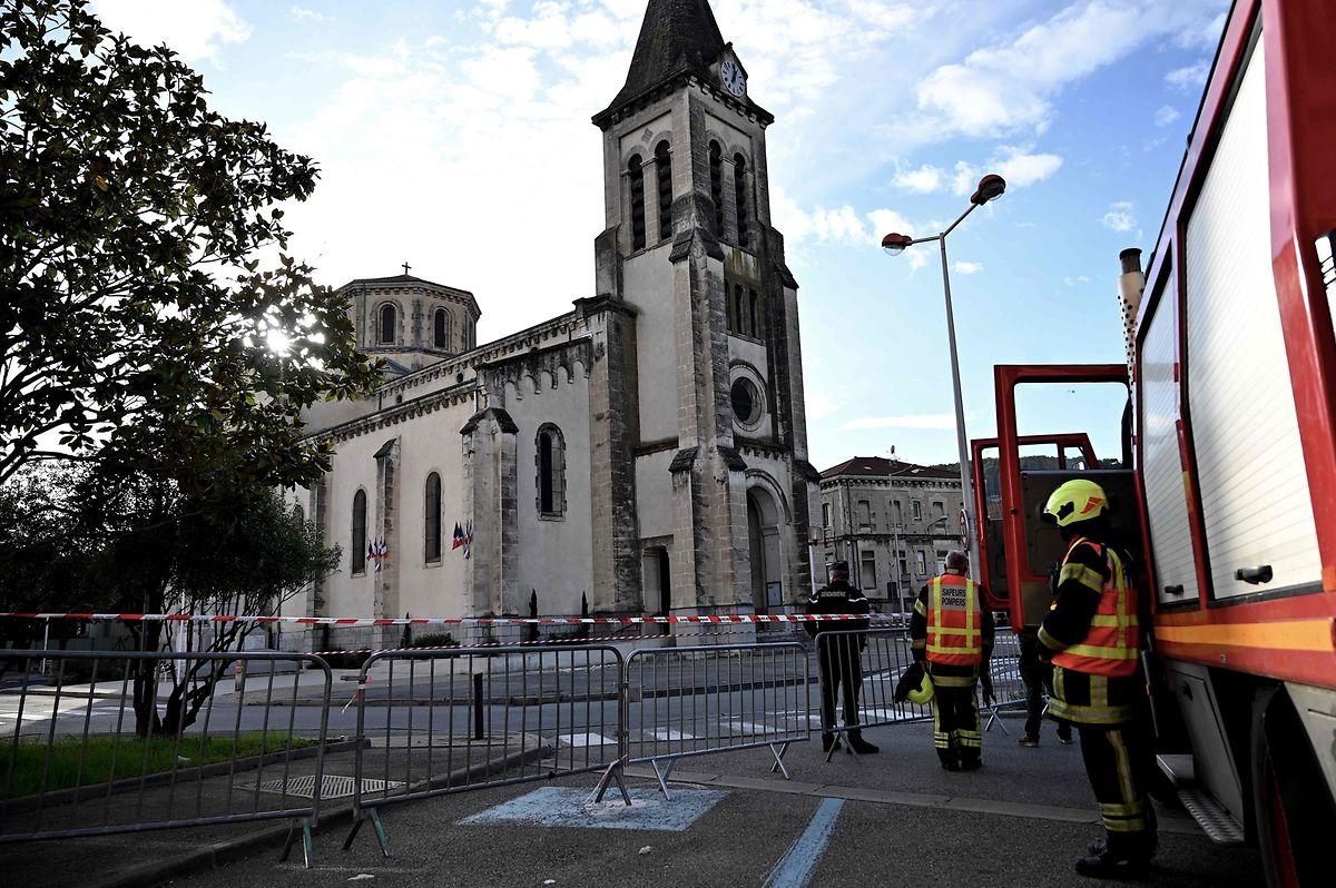 Au Teil, l'église a été fermée