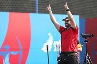 Gilles Seywert / Bogenschießen Compound, Viertelfinale, 2. Europaspiele 2019 / 27.06.2019 / European Games / Minsk / Foto: Yann Hellers