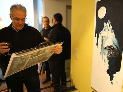 Exposition d'art des �tudiants de St George's International School avec soir�e jazz et vin / Foto: Steve EASTWOOD