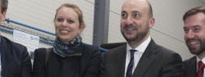 Umweltministerin Carole Dieschbourg und Wirtschaftsminister Etienne Schneider sind sich einig.