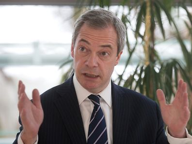 """Europe is a little backyard compared to the global economy out there,"" according to Farage."