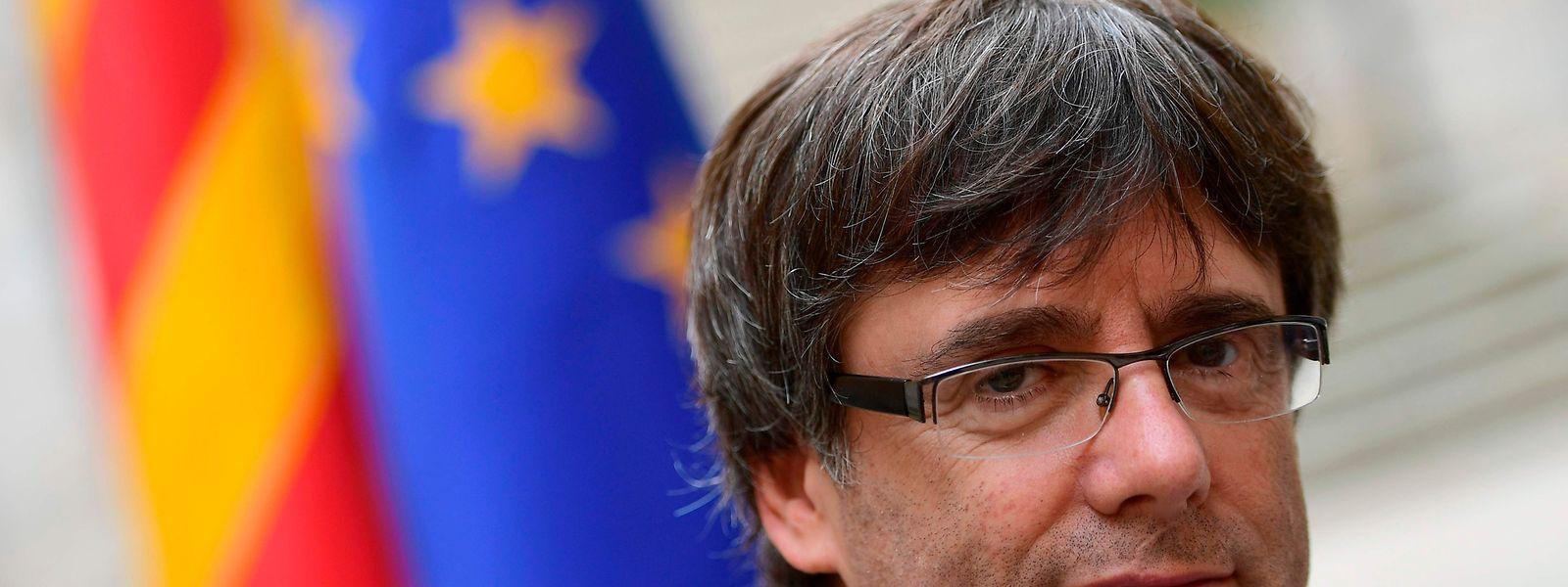 Carles Puigdemont ist nach Belgien geflohen.