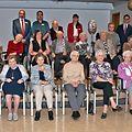 """Ehrung der 90-Jährigen im Altenheim """"An de Wisen"""" in Bettemburg. (Foto: Alain Piron)"""
