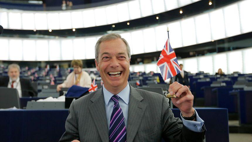 Nigel Farage: der bekannteste EU-Gegner der ganzen EU.