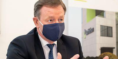 Raiffeisen CEO Yves Biewer