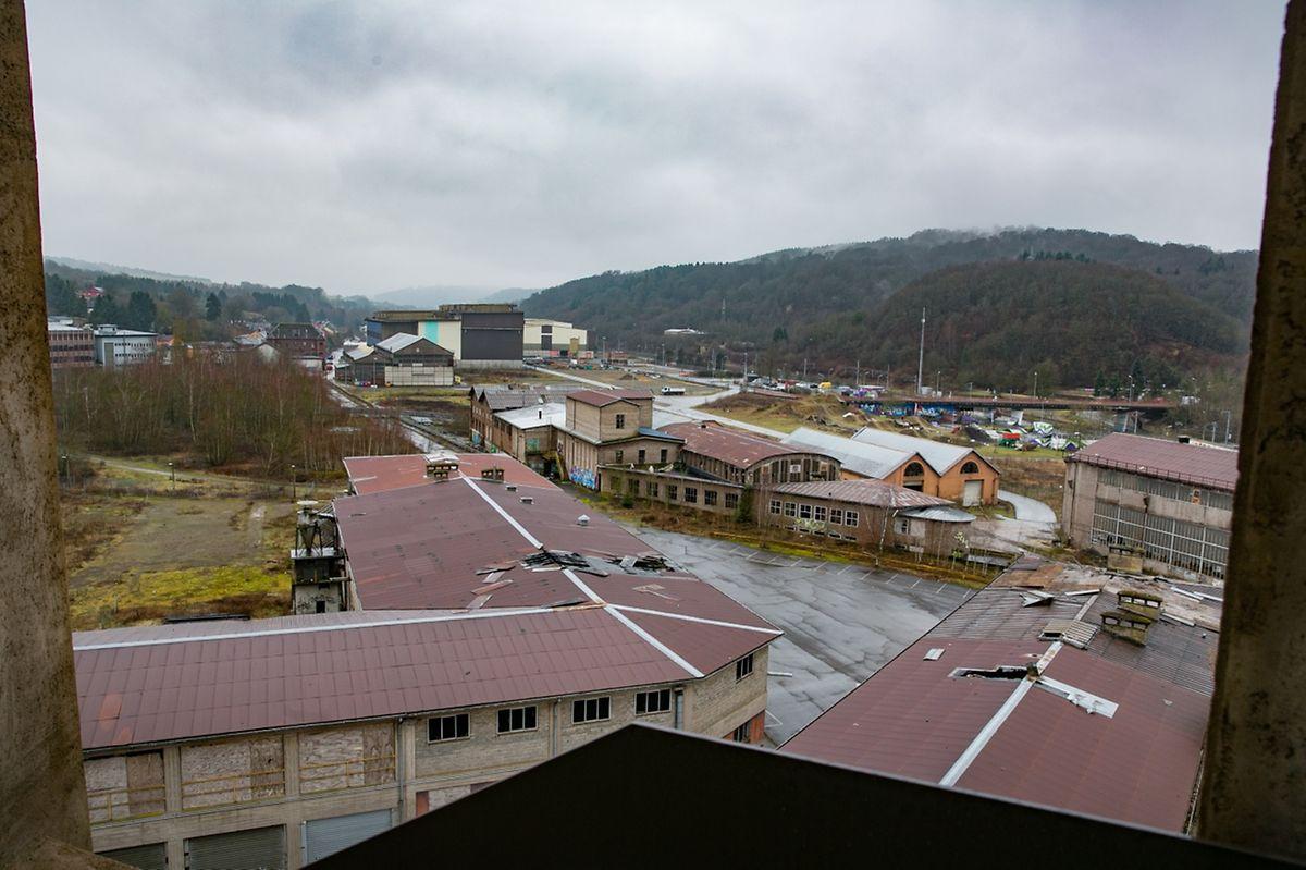 Certains bâtiments industriels près du château d'eau seront conservés.