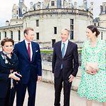 Fotos. Grão-duques nos 500 anos de um dos castelos mais emblemáticos de França