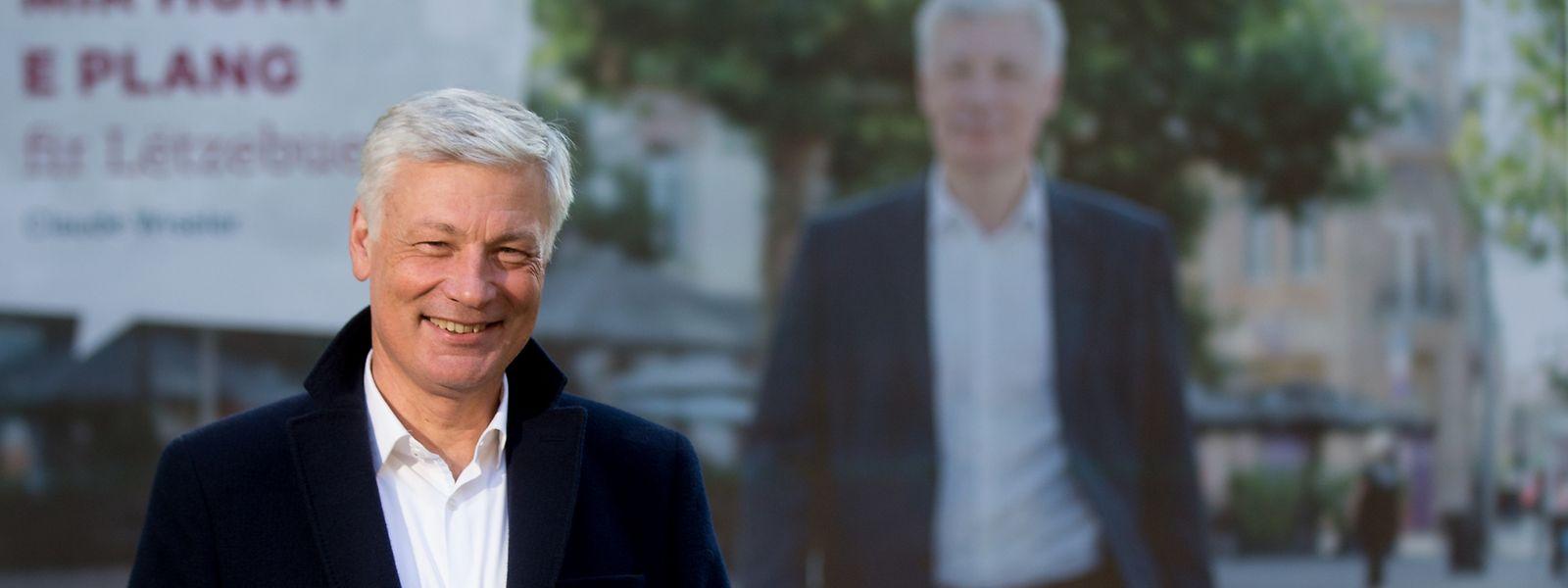 Zusammen mit der CSV will Claude Wiseler den Wechsel herbeiführen und ins Staatsministerium einziehen.