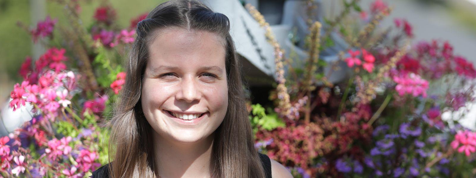 Die künftige Weinkönigin studiert in Straßburg Wirtschaftswissenschaften und Betriebswirtschaft.