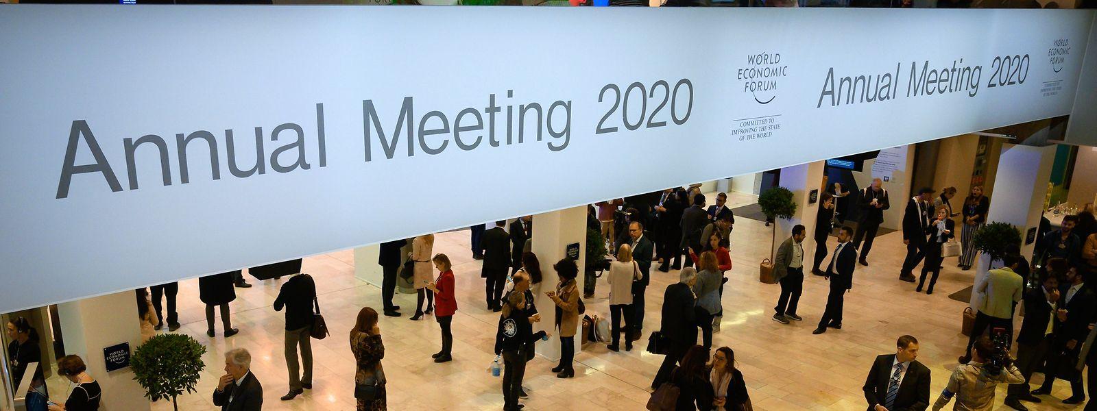 Davos war einmal mehr Treffpunkt des Weltwirtschaftsforums.