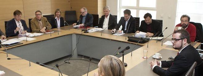 Jean-Claude Knebeler wurde am Freitag vom Srel-Ausschuss gehört.