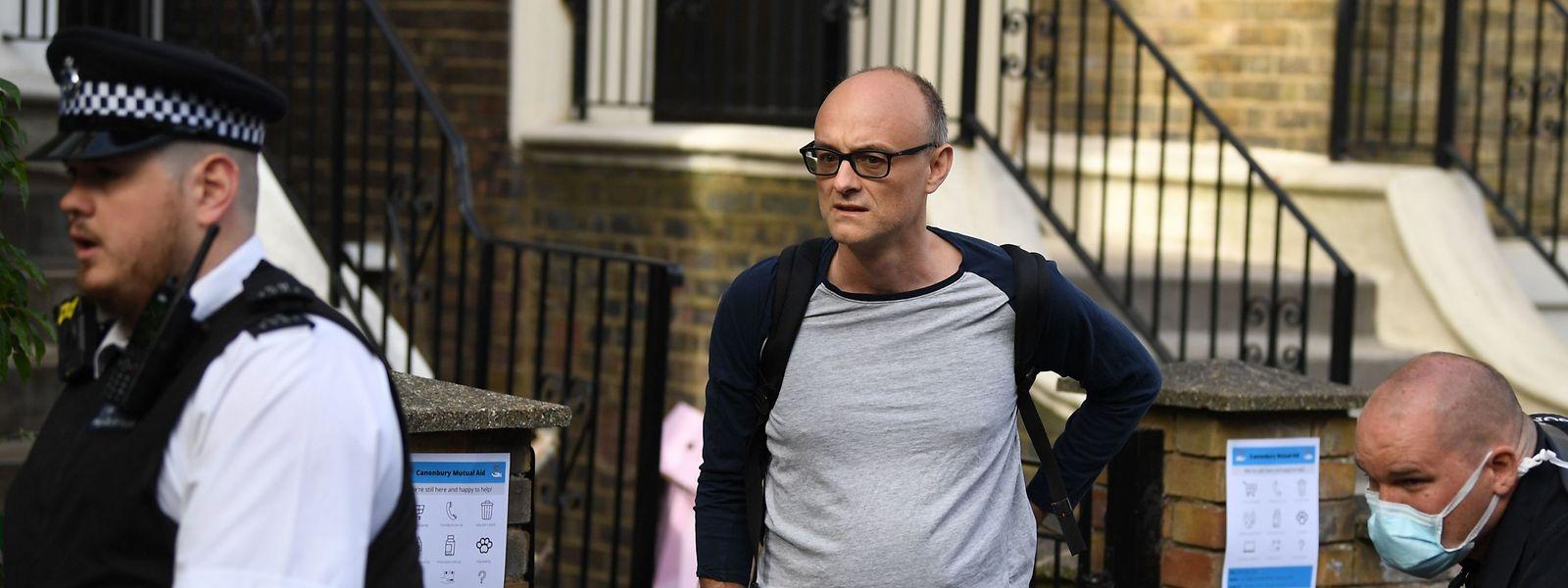 Dominic Cummings am Dienstag in London.