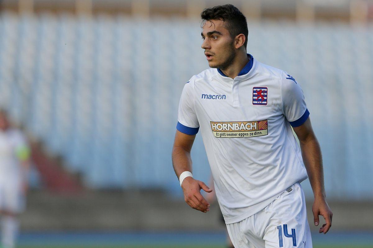 Décisif avec Dudelange, Danel Sinani serait bien avisé de l'être aussi avec l'équipe nationale.