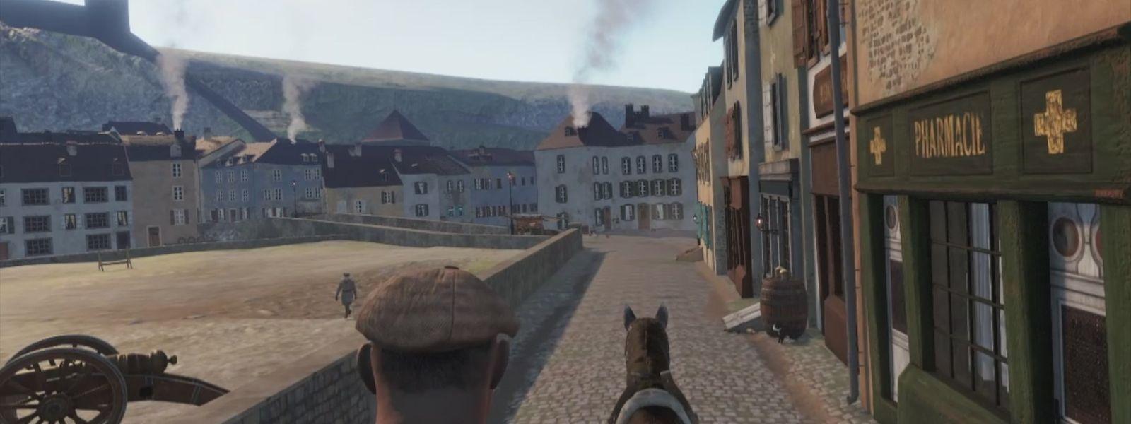 Une visite guidée en VR et AR est proposée par l'office du tourisme.